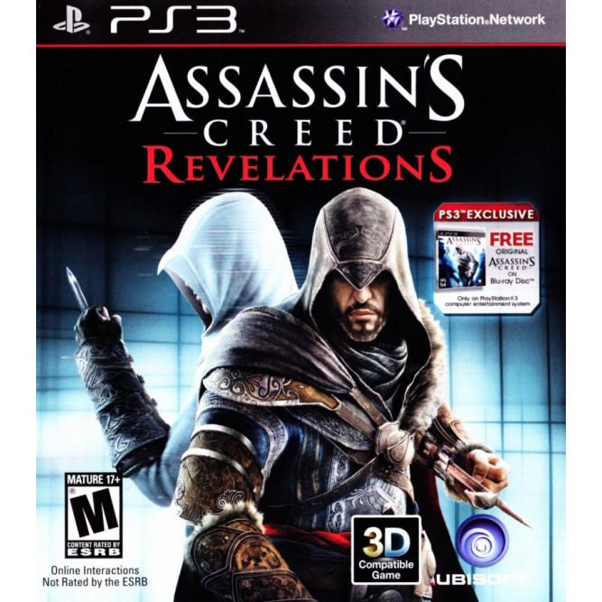 Игра Assassin's Creed: Revelations (AC:Откровения) (PS3) (eng) б/у