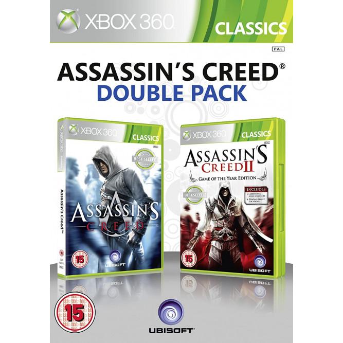 Сборник игр Assassin's Creed Double Pack (Assassin's Creed + Assassin's Creed 2) (Xbox 360) б/у