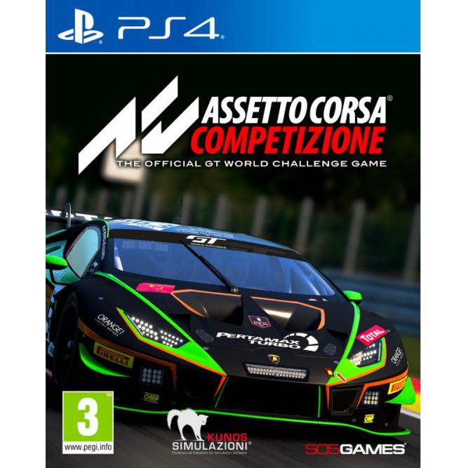 Игра Assetto Corsa Competizione (PS4) (rus sub)