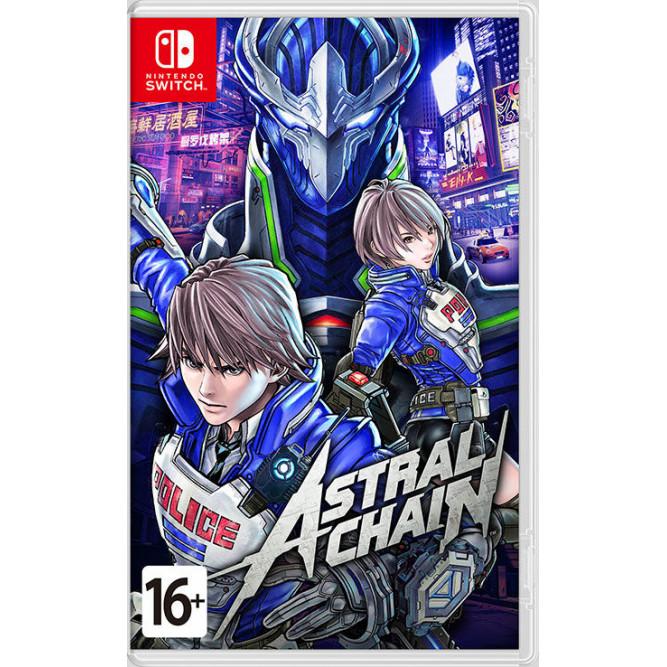 Игра Astral Chain (Nintendo Switch) (rus sub) б/у