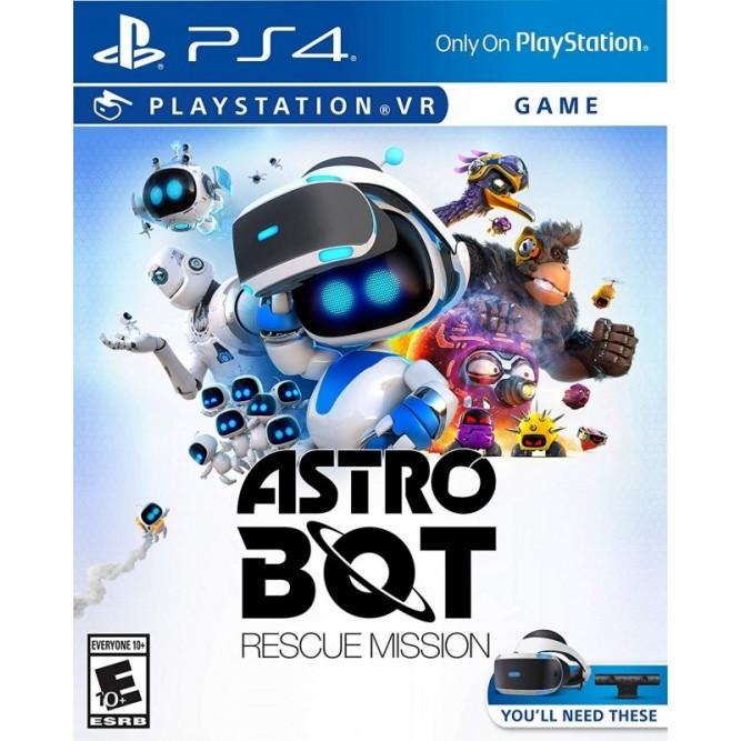 Игра Astro Bot: Rescue Mission (Только для PS VR) (PS4) б/у (rus)