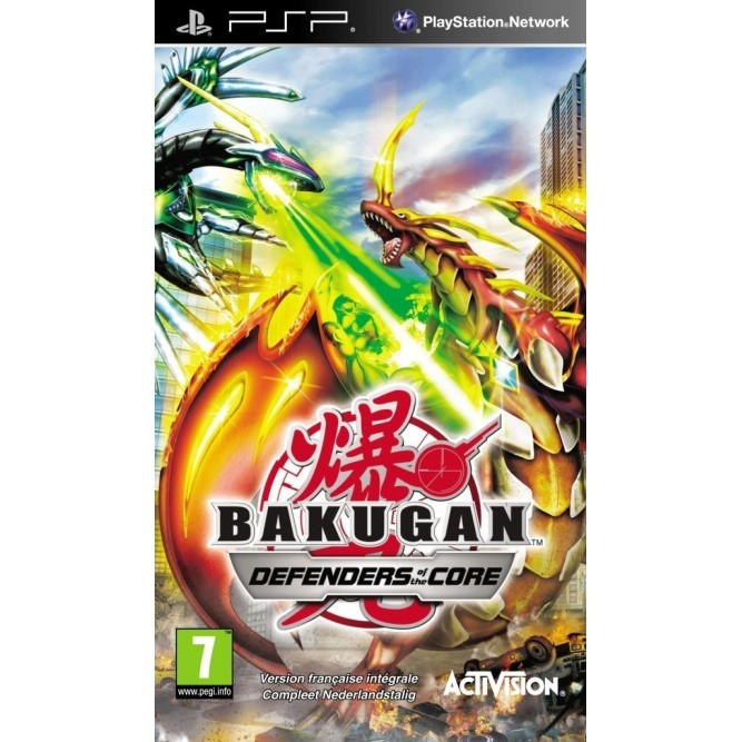 Игра Bakugan: Defenders of the Core (PSP)