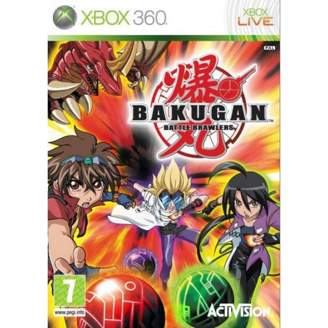 Игра Bakugan: Battle Brawlers (Xbox 360) б/у