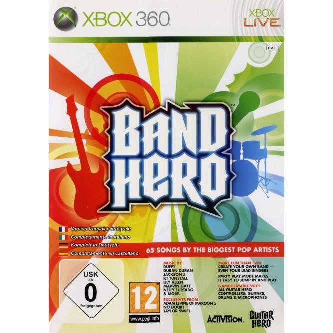 Игра Band Hero (Xbox 360) б/у