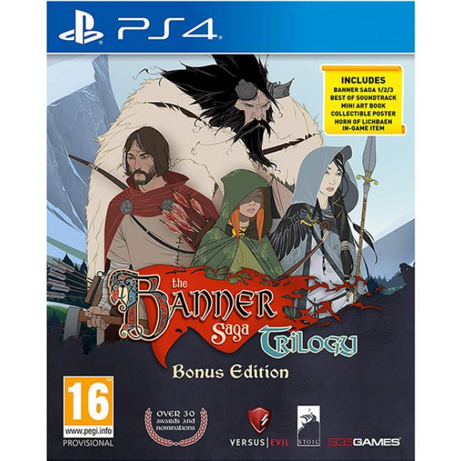 Игра The Banner Saga Trilogy (Bonus Edition) (PS4) (rus sub)