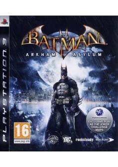 Игра Batman: Arkham Asylum (PS3) б/у