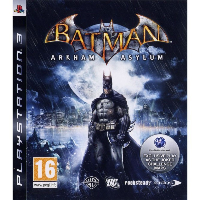 Игра Batman: Arkham Asylum (PS3) б/у