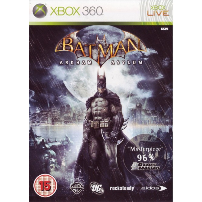 Игра Batman: Arkham Asylum (Xbox 360)