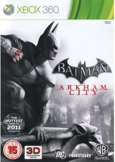 Игра Batman: Arkham City (Xbox 360) б/у (rus sub)