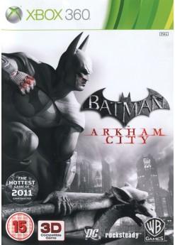 Игра Batman: Arkham City (Xbox 360) б/у (rus sub)
