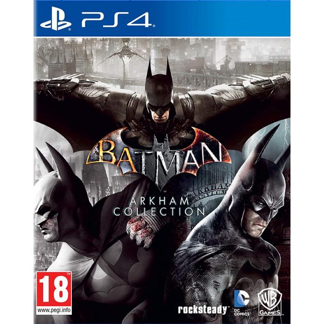 Игра Batman Arkham Collection (PS4) (rus) б/у