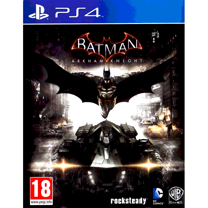 Игра Batman: Arkham Knight (Рыцарь Аркхема) (PS4)