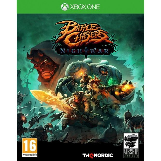 Игра Battle Chasers: Nightwar (Xbox One)