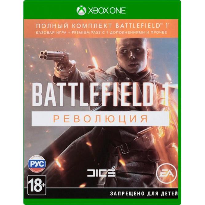 Игра Battlefield 1: Революция (Xbox One) (rus) б/у