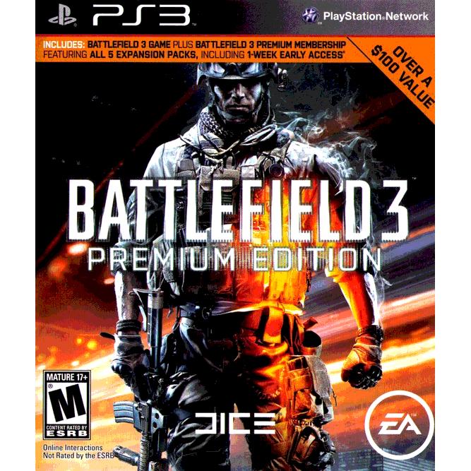 Игра Battlefield 3. Premium edition (PS3) б/у