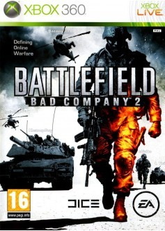 Игра Battlefield: Bad Company 2 (Xbox 360) б/у
