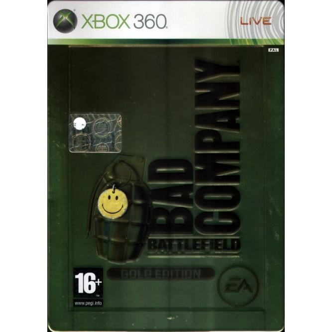 Игра Battlefield: Bad Company (Gold Edition) (Xbox 360) б/у