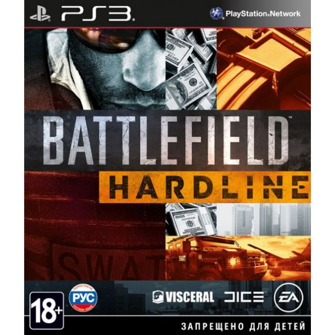 Игра Battlefield: Hardline (PS3) б/у