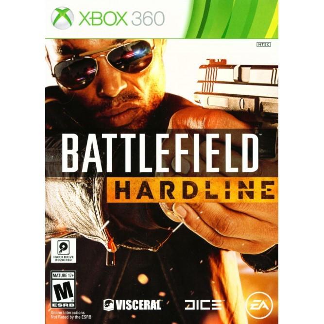 Игра Battlefield: Hardline (Xbox 360) б/у