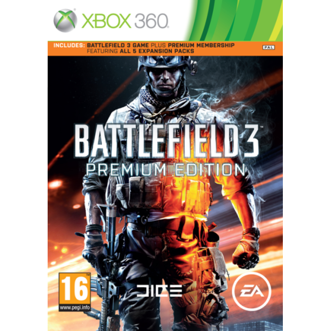 Игра Battlefield 3 (Premium Edition) (Xbox 360) б/у