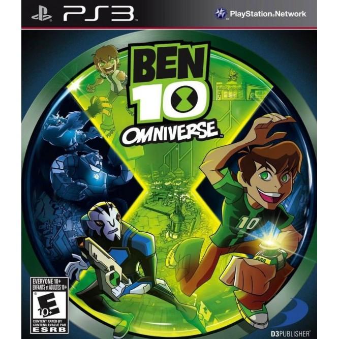 Игра Ben 10: Omniverse (PS3) б/у (rus)
