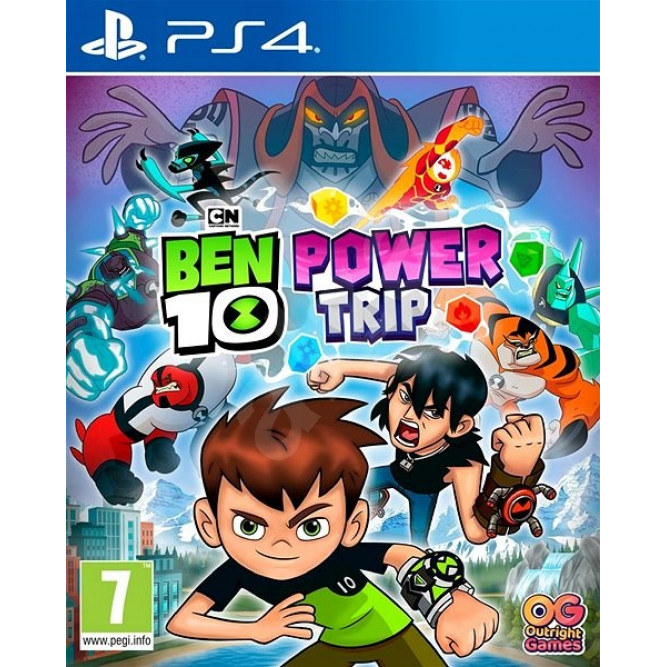 Игра Ben 10: Мощное Приключение (PS4) (rus sub)