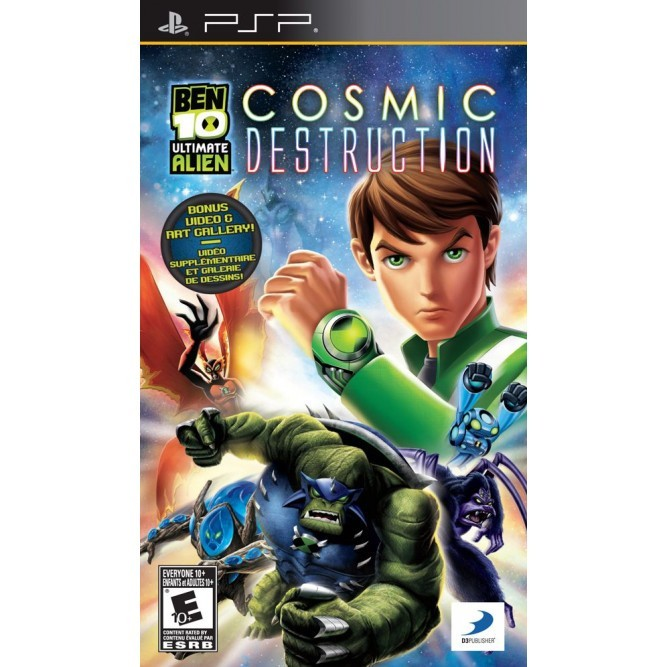 Игра Ben 10 Ultimate Alien Cosmic Destruction (PSP)