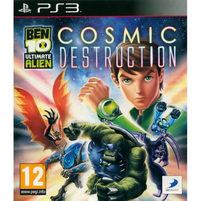 Игра Ben 10: Ultimate Alien - Cosmic Destruction (PS3) б/у