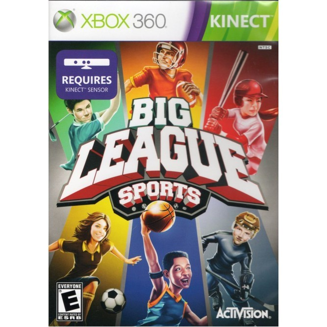 Игра Big League Sports (Только для Kinect) (Xbox 360) б/у
