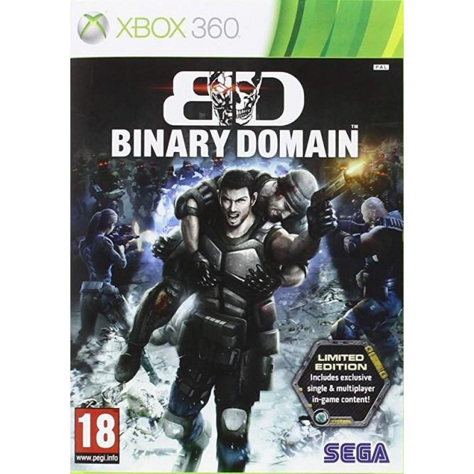 Игра Binary Domain. Limited Edition (Xbox 360)