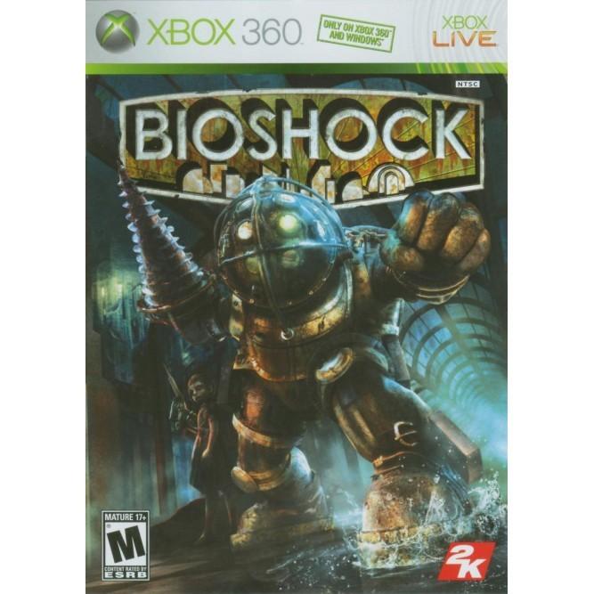 Игра Bioshock (Xbox 360) б/у (eng)