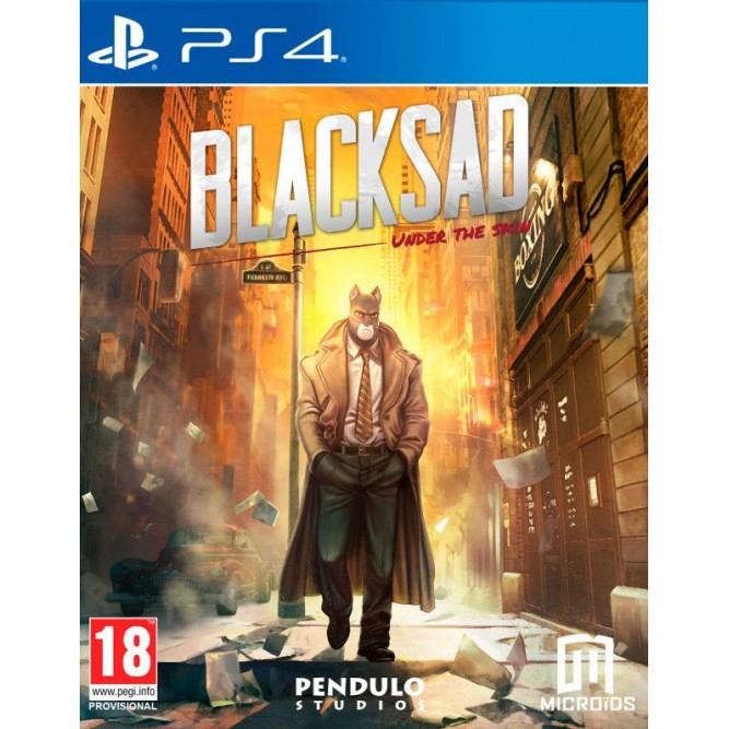 Игра Blacksad: Under The Skin. Limited Edition (PS4) (rus)