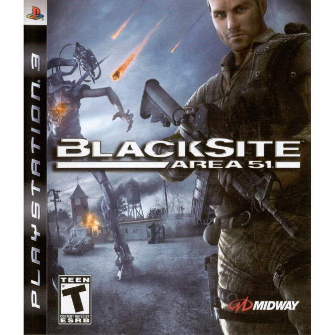 Игра BlackSite: Area 51 (PS3) б/у
