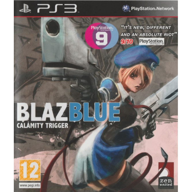 Игра BlazBlue: Calamity Trigger (PS3) (eng) б/у