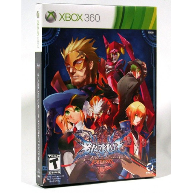 Игра BlazBlue: Continuum Shift Extend. Limited Edition (Xbox 360) б/у