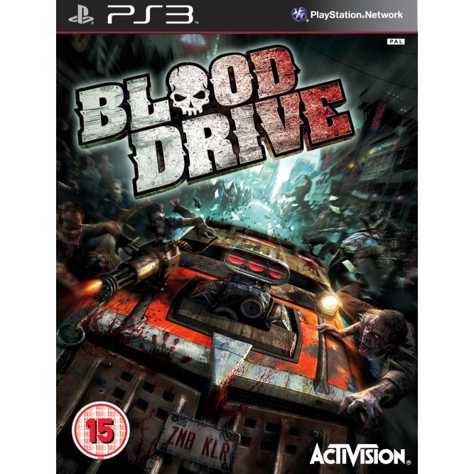 Игра Blood Drive (PS3) б/у