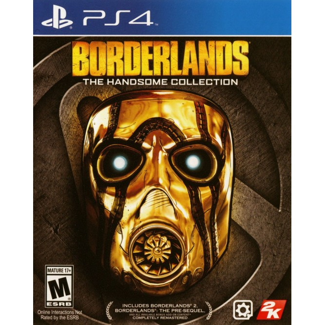 Игра Borderlands: The Handsome Collection (PS4) (eng) б/у