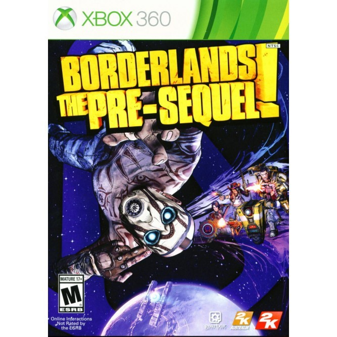 Игра Borderlands: The Pre-Sequel (Xbox 360) б/у (eng)