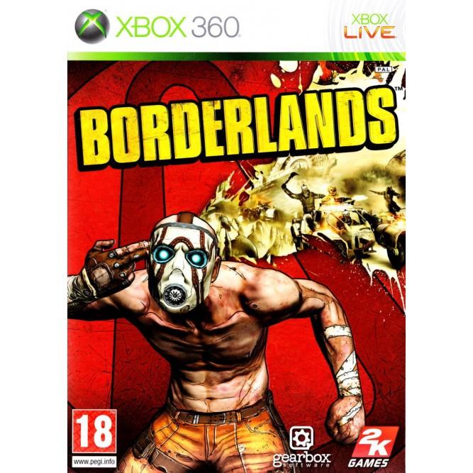 Игра Borderlands (Xbox 360) б/у