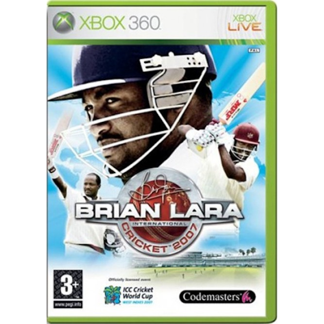 Игра Brian Lara International Cricket 2007 (Xbox 360) б/у