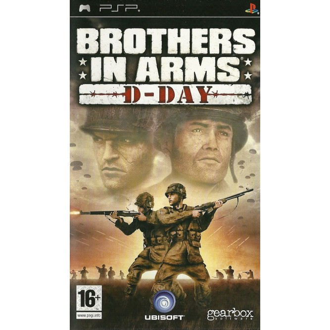 Игра Brothers in Arms: D-Day (PSP) б/у