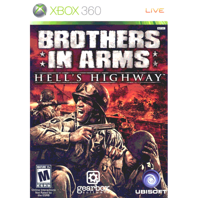 Игра Brothers in Arms: Hell's Highway (Xbox 360) б/у