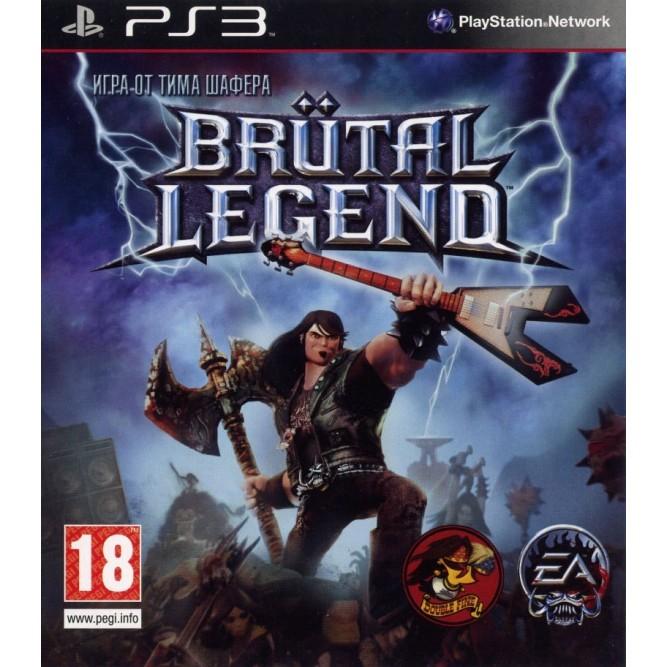 Игра Brutal Legend (PS3) б/у (eng)