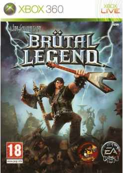 Игра Brutal Legend (Xbox 360) б/у