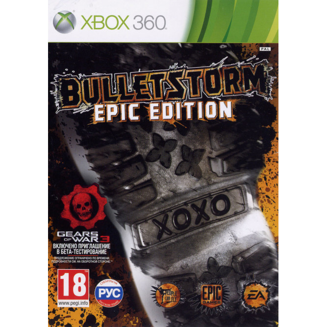 Игра Bulletstorm (Epic Edition) (Xbox 360) (rus) б/у