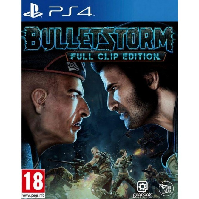 Игра Bulletstorm: Full Clip Edition (PS4) б/у
