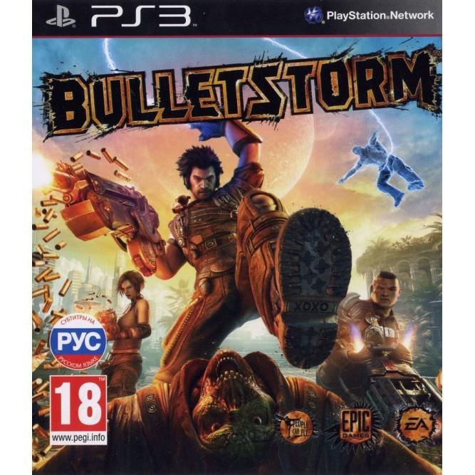Игра Bulletstorm (PS3) б/у (rus)