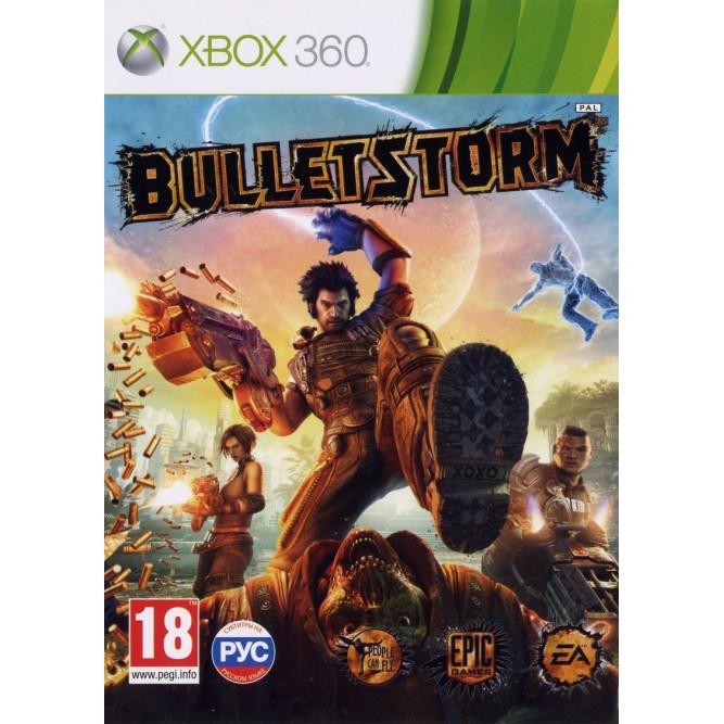 Игра Bulletstorm (Xbox 360) б/у (rus)