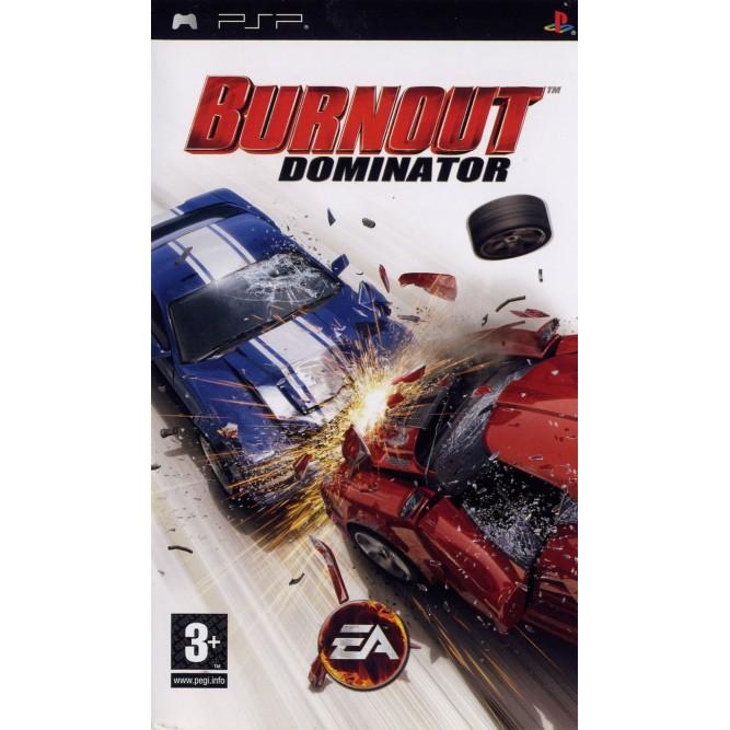 Игра Burnout: Domination (PSP) б/у (eng)