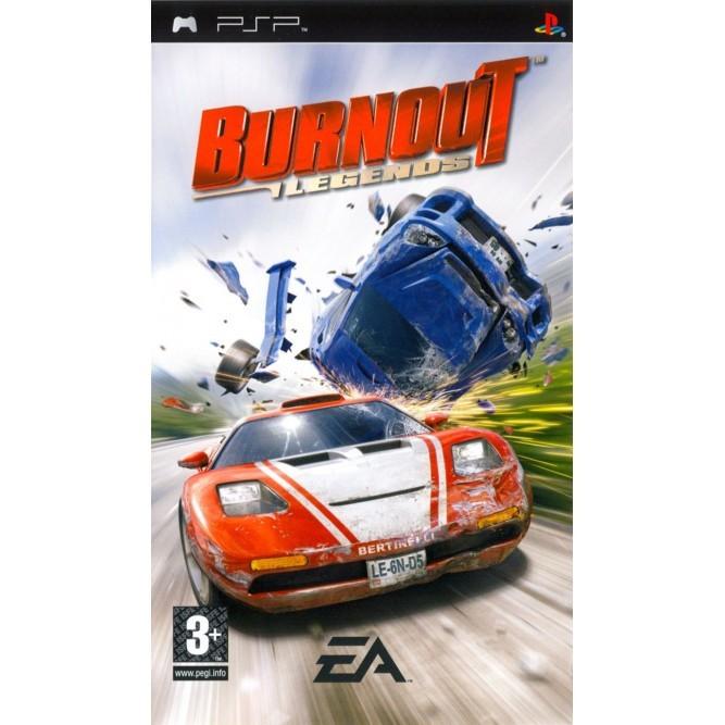 Игра Burnout: Legends (PSP) б/у